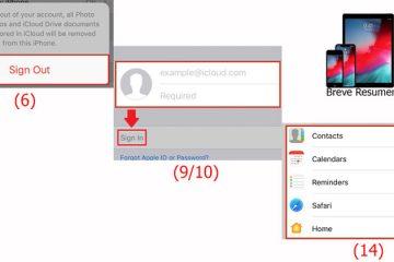 Como alterar sua conta do Apple ID do iCloud sem perder dados do iPhone ou Mac? Guia passo a passo