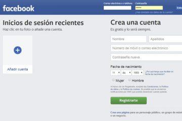 Como conectar-se à minha conta do Facebook em espanhol e entrar diretamente? Guia passo a passo