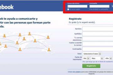 Como entrar no Facebook facilmente