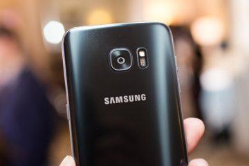 Corrigir erro da câmera Samsung Galaxy S7