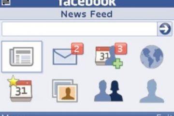 Baixe o Facebook Java na sua versão mais recente