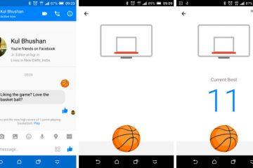 Facebook Messenger e seu jogo de basquete oculto, como jogar?