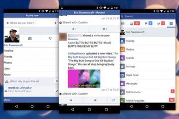 Baixe o Facebook para telefones antigos