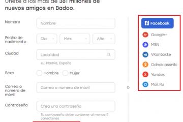 Como criar uma conta no Badoo de graça em espanhol, fácil e rápido? Guia passo a passo