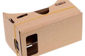 Como fazer óculos VR caseiros com papelão e lupas?