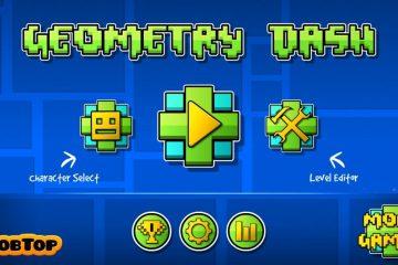 Geometry Dash vs Geometry Wars 3 para Android