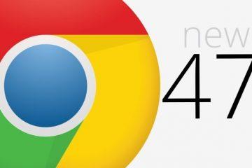 Chrome 47 agora disponível para download