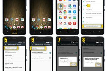 Como atualizar todos os dispositivos e telefones da BQ? Guia passo a passo