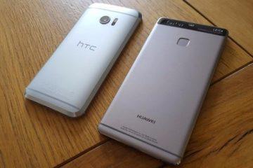 HTC 10 vs Huawei P9: duelo Android de ponta