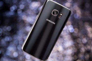 Criar captura de tela no Samsung S7 e S7 Edge