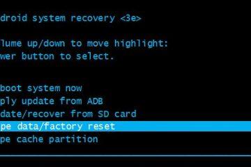 É assim que você pode fazer um Hard Reset sem usar os botões de volume