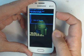Como fazer uma redefinição definitiva para um Samsung falso