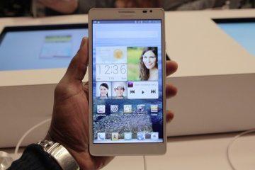 Como usar um Phablet Android ou iPhone com uma mão