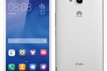 Como corrigir a memória interna danificada do Huawei Y550?