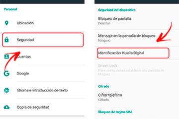 Como bloquear e desbloquear meu telefone celular com impressão digital? Guia passo a passo