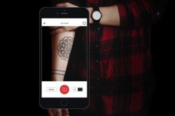 Faça o download do InkHunter para Android. Como seria uma tatuagem em sua pele?