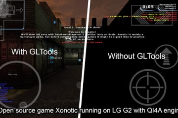 Como usar o GLTools no Android?