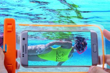 Os Samsung Galaxy J5 e J5 Prime são resistentes à água?