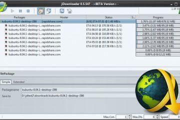 Instale o Jdownloader no Ubuntu 15.04 e versões anteriores