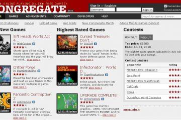 Kongregate – Uma das melhores plataformas de jogos online