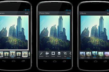 Os 3 melhores aplicativos para editar fotos no Android