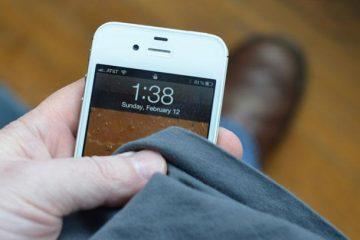 Limpe o celular, um incômodo necessário