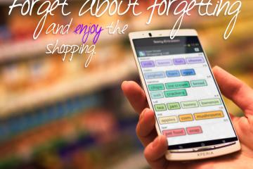 Lista de compras super simples, não se esqueça de nada no super