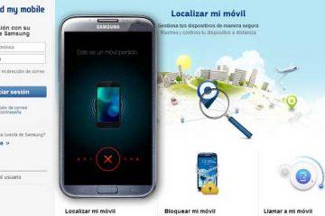 Como localizar um celular Samsung roubado ou perdido?