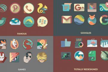 Os 5 melhores pacotes de ícones para Android