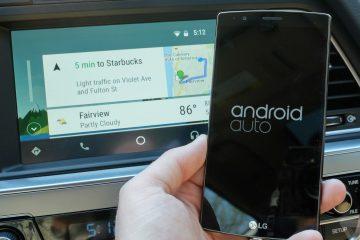 Móvel compatível com Android Auto