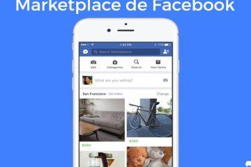 Correção: o ícone do MarketPlace não aparece no Facebook Como corrigi-lo?
