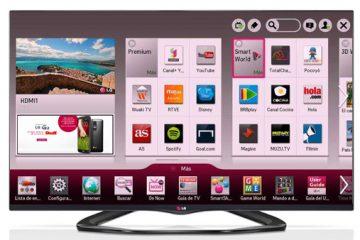 As melhores aplicações para LG Smart TV