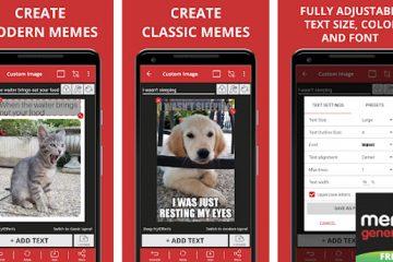 Quais são as melhores aplicações para criar memes com fotos no Android e iOS? Lista de 2019