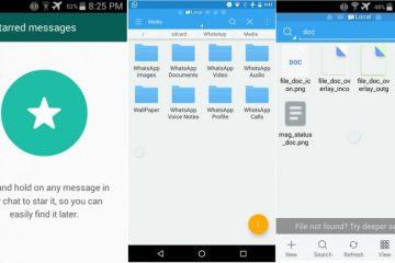Como marcar mensagens favoritas no WhatsApp?