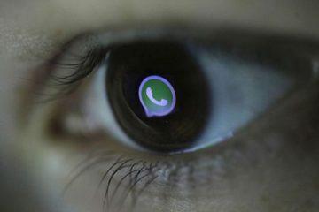 Existe um modo noturno na câmera do WhatsApp?