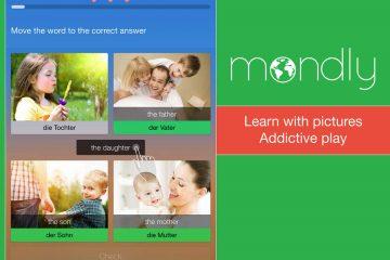 Mondly: 33 idiomas diferentes que você pode aprender