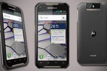 Como tirar uma captura de tela do Motorola Iron Rock