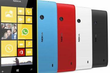 Como definir o padrão de bloqueio para o Nokia Lumia 520