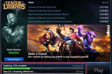 Como atualizar o League of Legends manualmente? Guia passo a passo