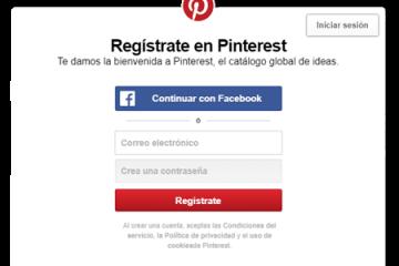 Como criar uma conta gratuita do Pinterest em espanhol de forma fácil e rápida? Guia passo a passo