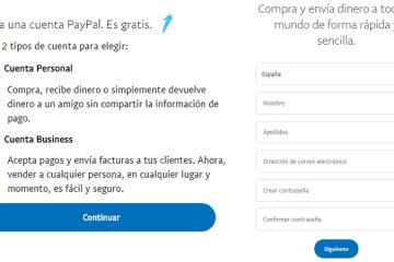 Como criar uma conta Paypal gratuita, fácil e rápida? Guia passo a passo