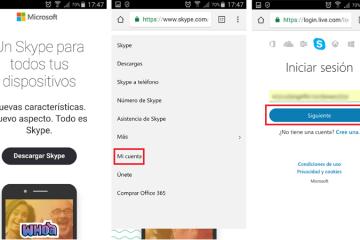 Como fazer login no Skype em espanhol, fácil e rápido? Guia passo a passo