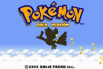 Pokémon Gold para Android Jogue novamente!