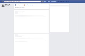 Por que o Facebook fica carregando?