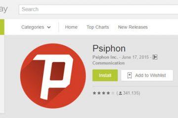 Como baixar Psiphon para celular com Windows Phone