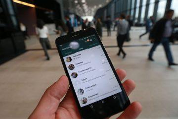 Você pode enviar uma mensagem do WhatsApp você mesmo?