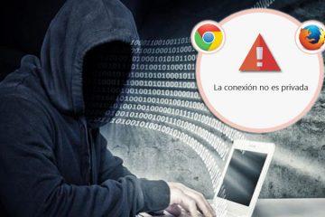 Corrija o erro: «A conexão não é privada» no Chrome e Firefox – Guia passo a passo 2019