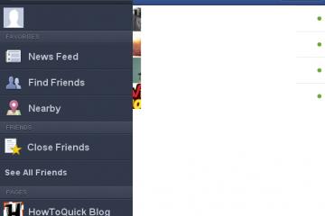 Remova as notificações do Facebook no Opera Mini