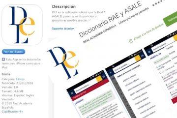 Aplicativos para consultar o Dicionário RAE no celular