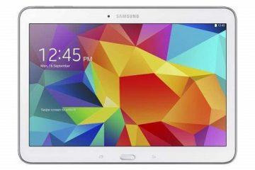 Como redefinir a fábrica ou reiniciar um tablet Samsung?